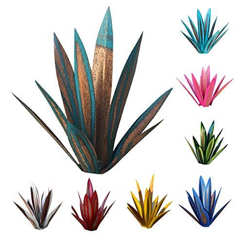 JQq 9 Fogli 35cm per bricolage, in Metallo, Arte Tequila Scultura Rustica, Giardino, Cortile, Multicolore