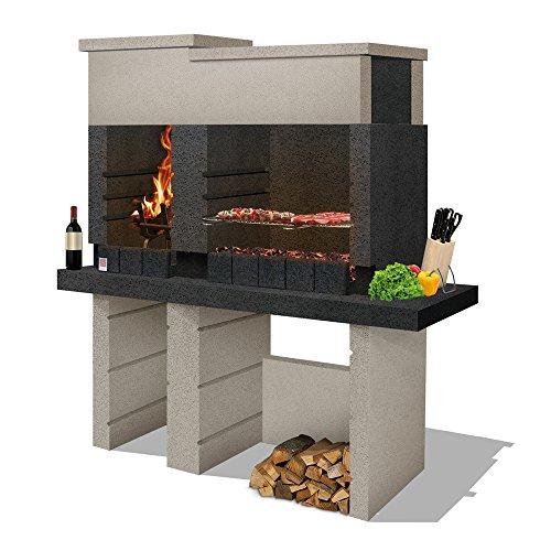 Sarom San Pedro Barbecue, Cappuccino e Grigio Antracite