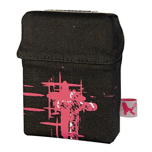 smokeshirt Zigarettenetui XL in div. Designs 23-25 Zigaretten smoke shirt für Zigarettenschachtel in der Größe Big, modisch, Elegante, patentiert, Dark Cross