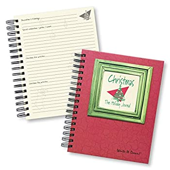 Christmas The Holiday Journal 25 Years of Memories Hardcover RED Color