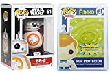 Funko Pop: Star Wars Episode 7: The Force Awakens - BB-8 + FUNKO PROTECTIVE CASE...