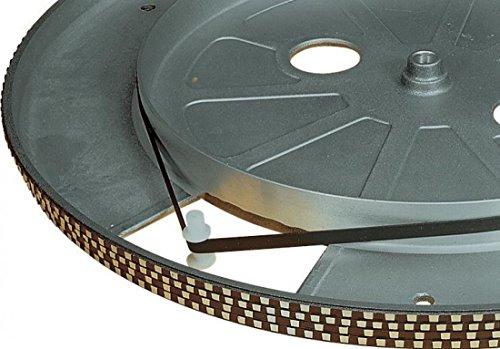 Schwarz 189 mm Plattenspieler Antriebsriemen