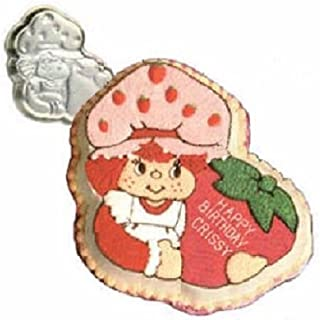 Vintage 1981 Wilton Strawberry Shortcake Birthday Cake Pan #502-3835