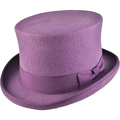 D/H Zylinder aus 100% Wolle, Spitzenqualität, satingefüttert, transportsicher verpackt Gr. Small, violett