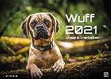 Wuff - Unsere Vierbeiner - Der Hundekalender - 2021 - Kalender - Format: DIN A3: Der Wandkalender mit den schönsten Hunde-Motiven!