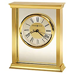 Howard Miller Monticello Table Clock 645-754 – Modern & Square with Quartz Movement