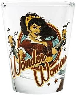 DC Bombshells Wonder Woman Shot Glass