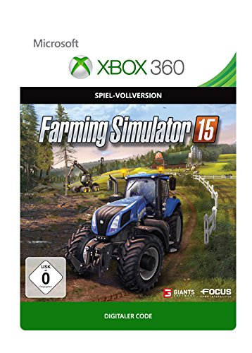 Farming Simulator 15  [Xbox 360 - Download Code]