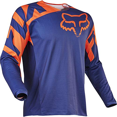 Bike Wear Mens Downhill Jersey Rage MTB Cycling Top Cycle Long Sleeve Spring Mountain Bike Shirt (Orange,M)