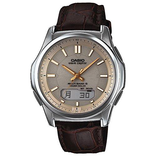 [カシオ]CASIO 腕時計 WAVE CEPTOR 世界6局対応電波ソーラー WVA-M630L-1A2JF メンズ ブラウン