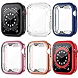 Best Smartwatch Cases - LORDSON 6 Pack Screen Protector Case Compatible Review