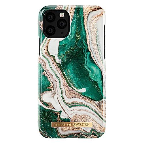 IDEAL OF SWEDEN Handyhülle Modell Golden Jade Marble in grün, für iPhone 11 Pro/XS/X, IDFCAW18-I1958-98, one Size