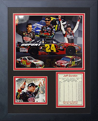 "Legends Never Die ""Jeff Gordon"" Framed Photo Collage, 11 x 14-Inch"