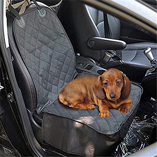 GuangLiu Funda Coche Perro Cubre Asientos Coche Perro Los Perros Accesorios Asiento de Viaje de Perro para Coche Fundas de Asiento de Perro para Coches a