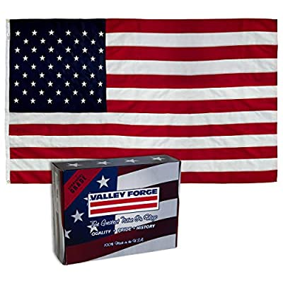 Valley Forge US4PN American Flag, 4'x6', Red,White,Blue