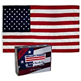 Valley Forge 60211000 American Flag, 6'x10', Multi color