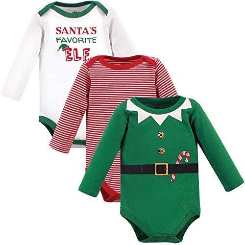 Little Treasure Unisex Baby Cotton Bodysuits, Elf, 9-12 Months