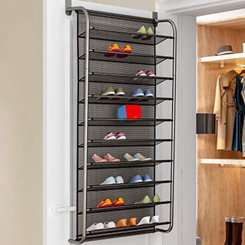 Mooyod Organizador de zapatos, 6/10 animales, para colgar en la pared, para colgar los zapatos, multicapa