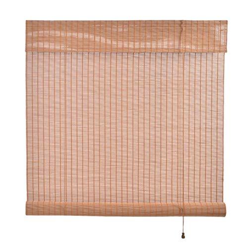 XYUfly20 Persiana Enrollable Sombrilla Partición De Sombreado De Estilo Japonés para Estudio Y Salón De Té. Parasol Especial Cortavientos para Terraza Pérgola Porche (Color : B, Size : 80x160cm)
