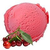 Amarena Kirsch Geschmack 1 Kg Gino Gelati Eispulver für Milcheis Softeispulver Speiseeispulver