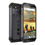 Ulefone Armor 3 Outdoor Smartphone 5,7 Zoll, 10300mAh Akku, 64GB interner Speicher 4GB RAM, 21MP + 16MP Kamera, Dual SIM Global LTE, Android 8.1 IP69K Wasserdicht Handy, PPT, NFC