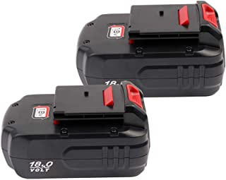 2Pack PC18B Battery 3.6Ah NiMH Replacement for Porter Cable 18V Battery PC188 PC18B-2 PC18BLEX PCC489N PCMVC PCXMVC Cordless Power Tools Battetry