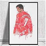 UpperPin Cristiano Ronaldo - Manchester United Legend Art