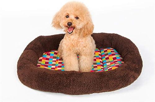 todos los bienes son especiales Wuwenw Pet Dog Dog Dog Cat Bed Colchón Colorful Plaids Square Cojín Nest Soft Grueso Cálido Cómodo Kennel Mat, XS  punto de venta en línea