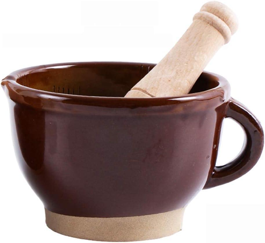 High material Ceramics Mortar Ranking TOP4 And Pestle Set Ginger Manual Garlic Grinding Han