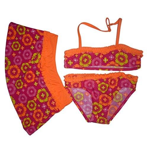 Losan - Bikini - para niña Rosa Naranja 3 años