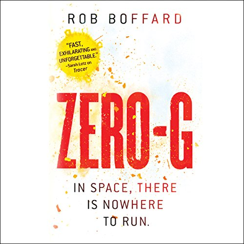 Zero-G audiobook cover art