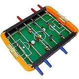 THMY Mesa de futbolín, futbolín, Mini Juego de futbolín, mesas de Juego para niños Juego Completo Fácil de Instalar Juguetes educativos Familiares