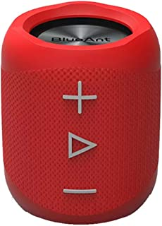 Bluetooth BlueAnt X1 Portable Bluetooth Speaker, Red, Red, (X1-RD)