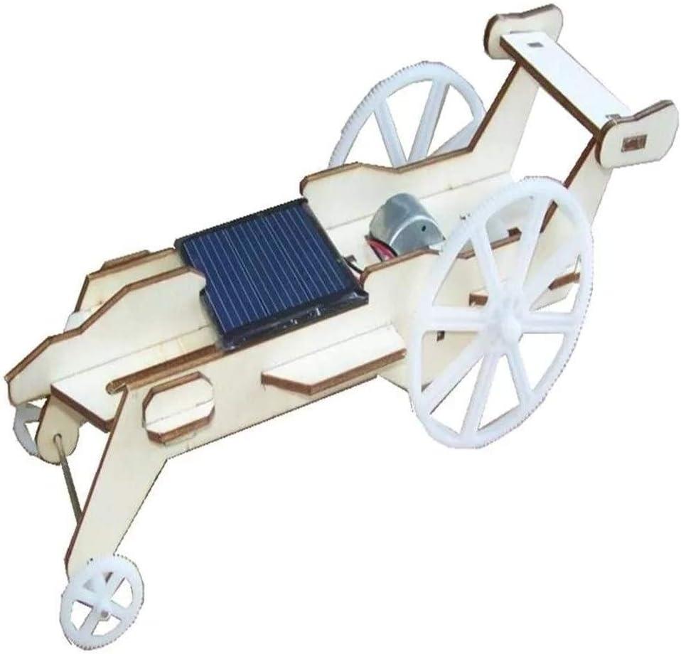 LIMEI-ZEN Motor DIY Kit Wooden Toy Solar Luxury goods Rover 2021 spring and summer new Lunar Car Unassem