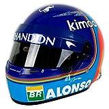 Réplica 1:2 Casco Fernando Alonso 'McLaren 2018'