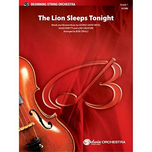 The Lion Sleeps Tonight – SCORE