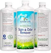 Stain Remover And Odor Eliminator - Mattress, Baby Crib, Pet Bed, Couch, Carpet, Blood, Poop, Vomit, Urine, Incontinence Treatment For Household Maintenance Issues- Plant-Based, Enzyme Formula. 32oz