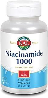 Kal 1000 Mg Niacinamide Tablets, 90 Count