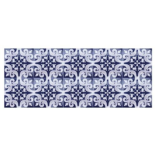 Gedourain Adhesivo para Azulejos, Adhesivos Antideslizantes para Suelo de 10x10 cm para Cocina, baño para decoración del hogar(5)