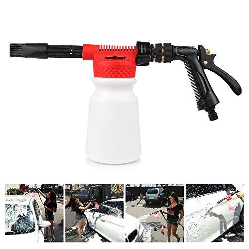 Univsal 900ml Auto Wassen Schuim Pistool Auto Reinigen Wassen Sneeuw Foamer Lance Auto Water Zeep Shampoo Spuitbus Schuim voor Auto Motorfiets