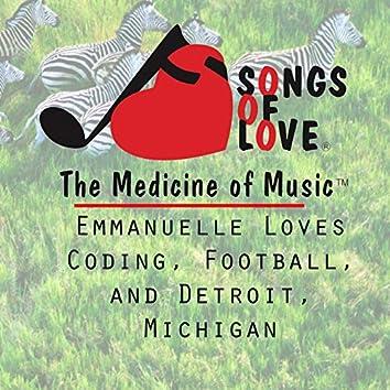 Emmanuelle Loves Coding, Football, and Detroit, Michigan