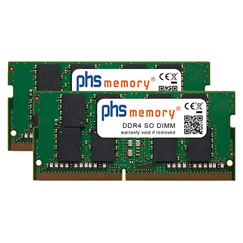 PHS-memory 64GB (2x32GB) Kit RAM Speicher für Apple iMac Core i9 3.6GHz 27-Zoll (5K, Early 2019) DDR4 SO DIMM 2666MHz PC4-2666V-S
