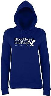 Blood Sweat and Tears Scotland Rugby Japan 2019 Sweatshirt Kids Navy