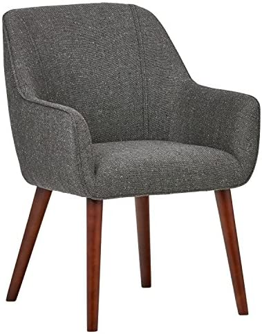 Best Amazon Brand – Rivet Julie Mid-Century Modern Dining Room Accent Chair with Arms, 32