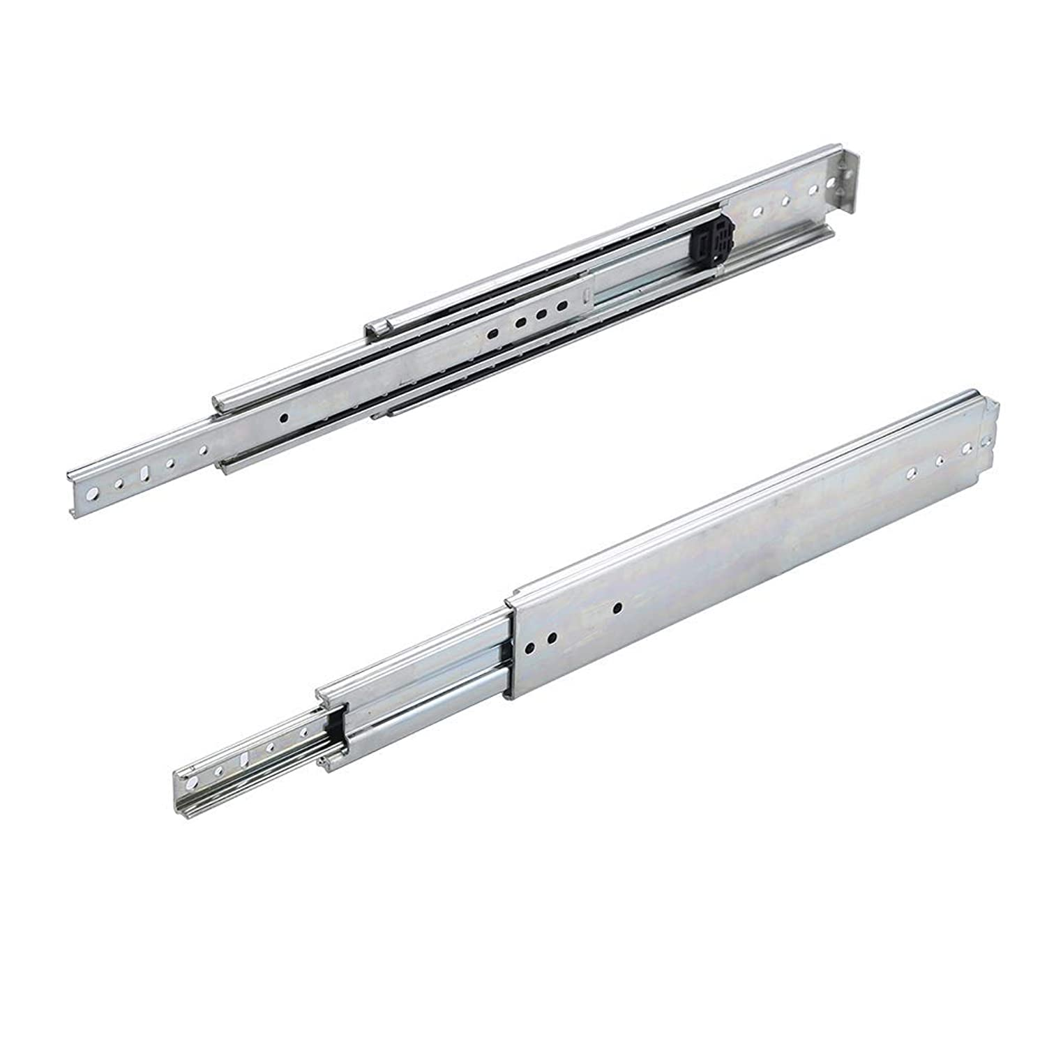 30 inch 500LB Capacity Heavy Duty Full Extension Ball Bearing Side Mount Drawer Slides - 1 Pairs,Mounting Screws Included, Available in 26'',28'',30'',32'',34'',36'' Length