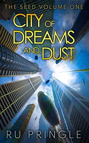 CITY OF DREAMS AND DUST thoughtful exciting relevant space opera an epic centuries spanning product image