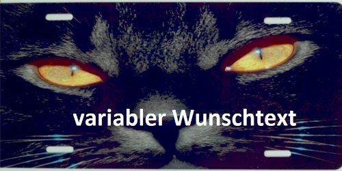 Schilderfeuerwehr Katzenschild mit Namen oder Spruch selbst gestalten und bedrucken lassen ✓ Katzen Zubehör und Artikel ✓