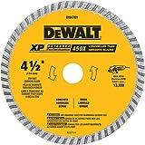 DEWALT Diamond Blade, Dry or Wet Cutting, Continuous Rim, 7/8-Inch Arbor, 4-1/2-Inch (DW4701)