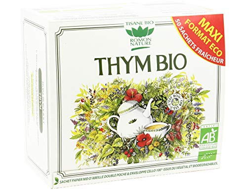 ROMON NATURE / PLANTASIA - THYM FORMAT ECO 50 SACHETS 85G