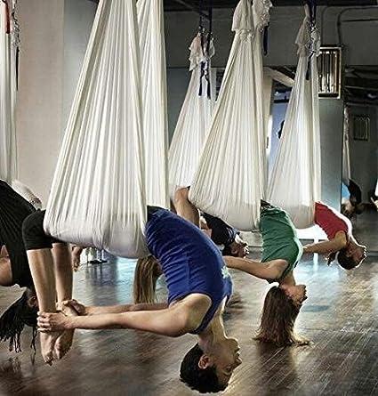 E-Bestar El Yoga antigravedad Hamaca Correa Volar para Yoga Pilates a/érea la Hamaca de Yoga Pilates el Columpio de Yoga el Equipo de la Danza a/érea Aerial Silks